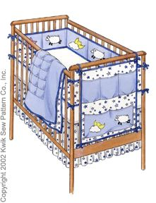 Baby Crib Bedding Patterns Free