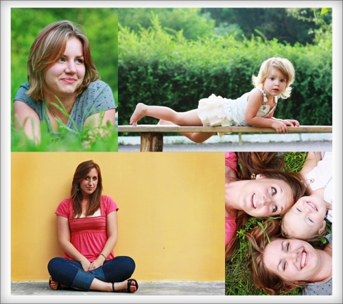 family and children's natural light photography